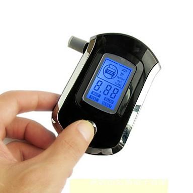 levne Testovací, měřící a kontrolní vybavení-at6000 prefesionální policie přenosný digitální dech alkohol analyzátor alkohol tester