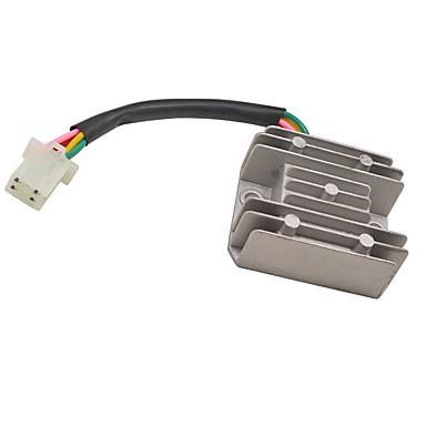 12v 4 ρυθμιστής ανορθωτή τάσης καλωδίου για βρωμιά pit bikie atv quad 150 200cc