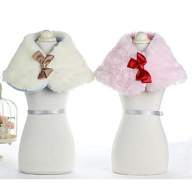 Σκύλος Other Ρούχα για σκύλους Φιόγκος Λευκό Μπλε Ροζ Βαμβάκι Στολές Για Άνοιξη & Χειμώνας Χειμώνας Ανδρικά Γυναικεία Καθημερινά