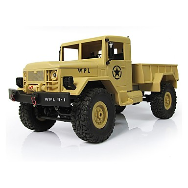 RC Car WPL Buggy (Off-road) / Truck / Rock Climbing Car 1:16 Brush Electric 10 km/h Remote Control / RC / Rechargeable / Electric