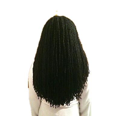 povoljno Ekstenzije za kosu-Kosa koja se plete Sestra Locs Micro Locs Twist pletenice 100% kanekalon kose Kanekalon 1 80 korijena / pakiranja Sušilo za pletenice Srednja dužina Nježno dizajneri Afričke pletenice