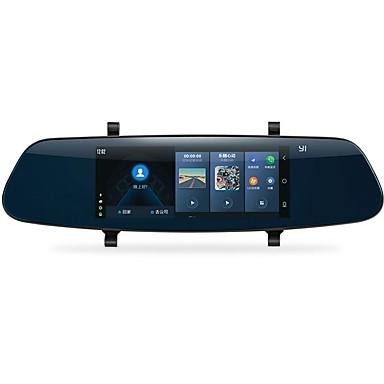billige Bil Elektronikk-YI YI 1280 x 480 Bil DVR 140 grader Bred vinkel 6.95 tommers Kapasitiv skjerm Dash Cam med iOS-app / Android APP / WIFI Nei Bilopptaker / GPS / Parkeringsmodus / Innebygd Høytaler