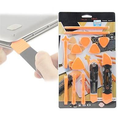 13 σε 1 εργαλεία αποσυναρμολόγησης σετ εργαλείο ανοίγματος ρότορα spudger για iphone 7 6 5 για ipad για ipod reparation δισκίο