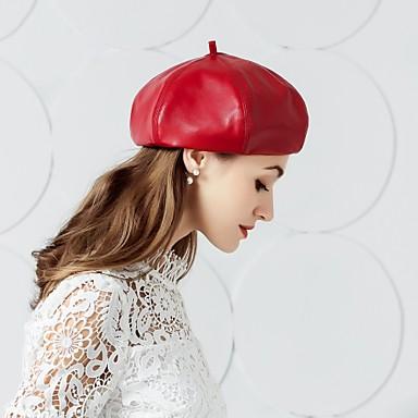 Δέρμα Kentucky Derby Hat / Καπέλα με 1 Γάμου / Πάρτι / Βράδυ Headpiece