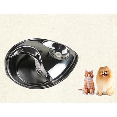 preiswerte Bekleidung & Accessoires für Hunde-Katze Hund Futter-Vorrichtungen Edelstahl Automatisch Solide Schüsseln & Füttern