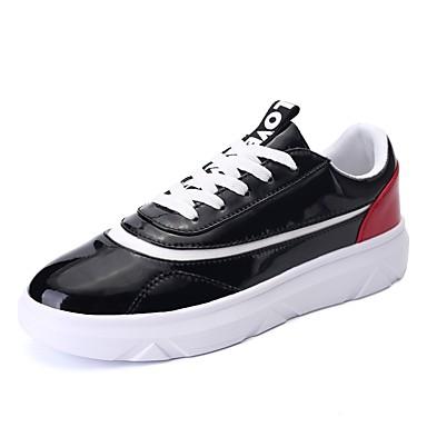 Masculino sapatos Couro Ecológico Primavera Outono Conforto Solados com  Luzes Tênis para Casual Branco Preto de 6405649 2019 por  22.99 9885d437e50f8