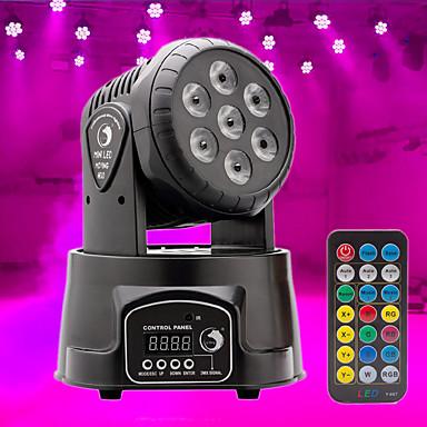 U'King Φώτα Σκηνής LED DMX 512 / Master-Slave / Ενεργοποίηση με  Ήχο 70 W για Για Υπαίθρια Χρήση / Πάρτι / Σκηνή Επαγγελματικό
