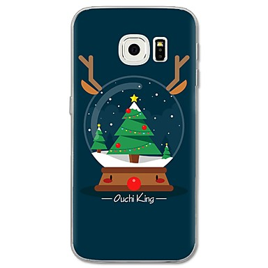 tok Για Samsung Galaxy S8 Plus / S8 / S7 edge Με σχέδια Πίσω Κάλυμμα Δέντρο / Χριστούγεννα Μαλακή TPU