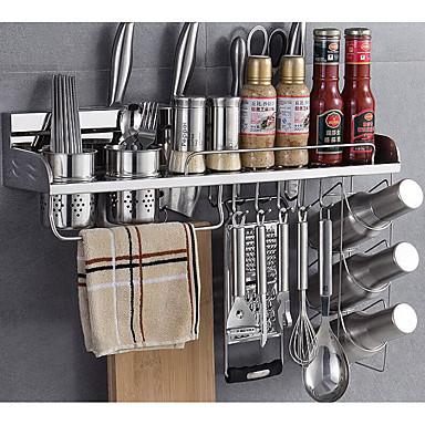 1pc Επιτραπέζια Διοργανωτές Ανοξείδωτο ατσάλι Εύκολο στη χρήση Οργάνωση κουζίνας