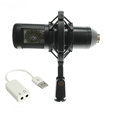 Characteristic BM800 Wired Microphone Sets Condenser Microphone Handheld Microphone For Computer Microphone