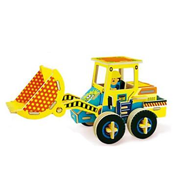 levne 3D puzzle-RUOTAI 3D puzzle Automobily Vysokozdvižný vozík 1 pcs Bagr Dětské Dospělé Hračky Dárek