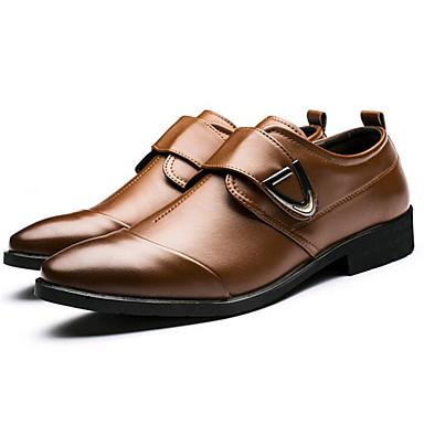 9cbde5cde76 [$22.99] Ανδρικά Παπούτσια Δερματίνη Άνοιξη Καλοκαίρι Ανατομικό Τυπική  παπούτσια ...