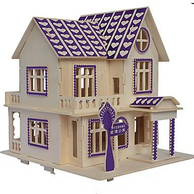voordelige 3D-puzzels-Houten puzzels Houten modellen Modelbouwsets Nieuwigheid Klassiek Focus Toy Ouder-kind interactie Vreemde Speelgoed Puinen Artistiek /