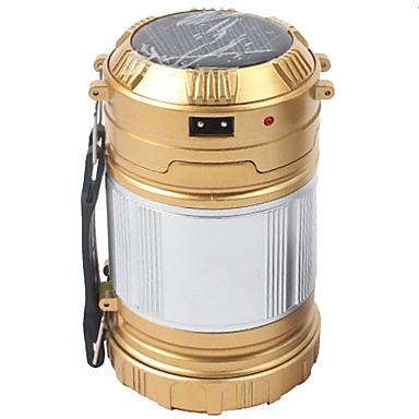 Φανάρια & Φώτα Σκηνής Φώτα Έκτακτης Ανάγκης 200 lm LED LED Εκτοξευτές Αυτόματο τρόπος φωτισμού Προσαρμοσμένη Φόρμα Κατασκήνωση / Πεζοπορία / Εξερεύνηση Σπηλαίων Μαύρο Χρυσό