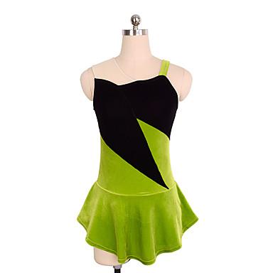Φόρεμα για φιγούρες πατινάζ Γυναικεία   Κοριτσίστικα Patinaj Φορέματα  Πράσινο Spandex Ανελαστικό Επίδοση   Πρακτική Ενδυμασία πατινάζ Μονόχρωμο  Αμάνικο ... ab15d3a80a4