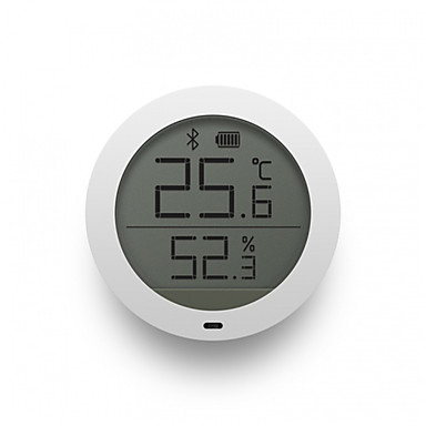cheap Xiaomi-Xiaomi Mijia Bluetooth Temperature Humidity Sensor LCD Screen Digital Thermometer Moisture Meter Smart Mi Home APP Real-time Monitoring Wall Sticker