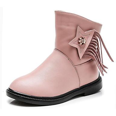 736adce24ada3 Fille Chaussures Cuir Automne Hiver Bottes de neige Confort Bottes Marche  Gland pour Décontracté Noir Rouge Rose de 6416355 2019 à  22.99