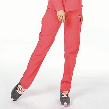 Γυναικεία Pantaloni de Drumeție Μετατρέψιμα παντελόνια Εξωτερική Γρήγορο Στέγνωμα Φορέστε Αντίσταση Παντελόνια Πεζοπορία Υπαίθρια Άσκηση Κατασκήνωση Κόκκινο Ροδοκόκκινο Χακί Τ M L XL XXL
