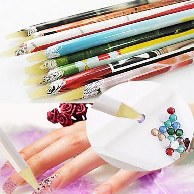 levne Náčiní a vybavení-1ks tečkování nástroje Pro Lehká pevnost a trvanlivost nail art manikúra pedikúra Jedinečný design / Klasické Denní