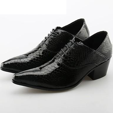 Pánské Společenské boty Kůže Jaro   Podzim Oxfordské Černá   Svatební    Party   Novinka boty 6422070 2019 –  84.99 ebbc1c1d73