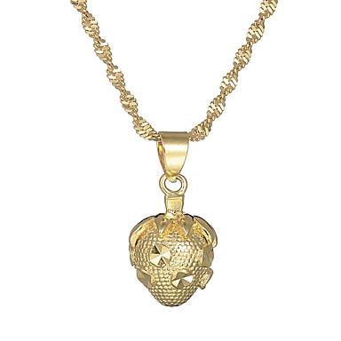 povoljno Modne ogrlice-Žene Ogrlice s privjeskom Jagoda Vintage Osnovni Kamen Zlato Ogrlice Jewelry 1 Za Dar Formalan