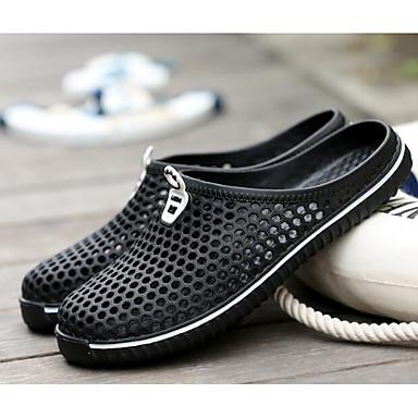 3770549003a [$8.00] Ανδρικά Παπούτσια EVA Άνοιξη / Καλοκαίρι Ανατομικό Σανδάλια Μαύρο /  Κόκκινο / ...