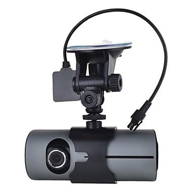 billige Bil Elektronikk-1280 x 480 Bil DVR 120 grader / 140 grader Bred vinkel 2.7 tommers Dash Cam med G-Sensor Nei Bilopptaker