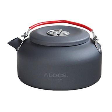 Βραστήρας κάμπινγκ 0.08 L Σκεύη Μαγειρικής για Εξωτερικό Χώρο 1 Φοριέται Για 3-4 άτομα Σκληρός Αλουμίνας Μεταλλικό ΕΞΩΤΕΡΙΚΟΥ ΧΩΡΟΥ Κατασκήνωση Μαύρο