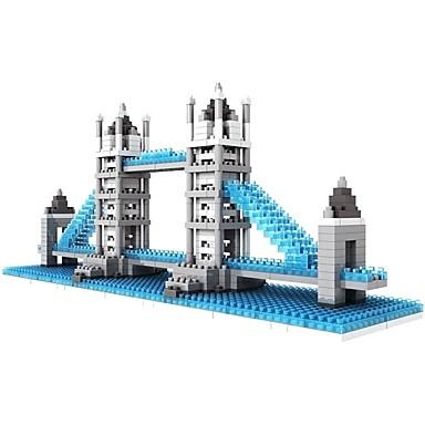 Τουβλάκια LOZ Diamond μπλοκ Κατασκευασμένα Παιχνίδια 570 pcs Αρχιτεκτονική Διάσημο κτίριο η γέφυρα του Λονδίνου συμβατό Legoing Non Toxic Φτιάξτο Μόνος Σου Κλασσικό Αγορίστικα Κοριτσίστικα Παιχνίδια