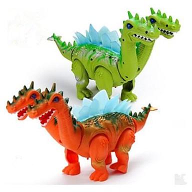 preiswerte Dinosaurier-Figuren-Tier-Actionfiguren Drachen & Dinosaurier Modellbausätze Stress und Angst Relief Elektrisch Exquisit Dinosaurier Tier Weicher Kunststoff Anime 1 pcs Kinder Jungen Mädchen Spielzeuge Geschenk