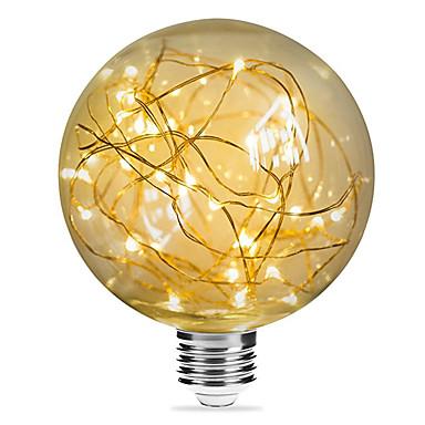 preiswerte LED Glühbirnen-1pc 3 W LED Glühlampen 200 lm E26 / E27 G95 33 LED-Perlen SMD Dekorativ sternenklar Weihnachtshochzeitsdekoration Warmes Weiß 85-265 V / RoHs