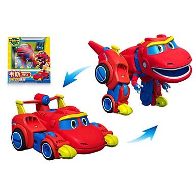 Ρομπότ Παιχνίδια βάρκες Αγωνιστικό αυτοκίνητο Οχήματα Δεινόσαυρος Ζώο Μεταμορφώσιμος Ζώα Αλληλεπίδραση γονέα-παιδιού Άνιμαλ Μαλακό Πλαστικό Παιδικά Παιχνίδια Δώρο 1 pcs