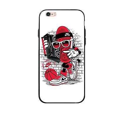 povoljno iPhone maske-Θήκη Za Apple iPhone X / iPhone 8 Plus / iPhone 8 Uzorak Stražnja maska Crtani film / 3D likovi Mekano TPU
