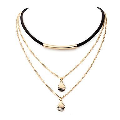 Dam Lager Halsband   wrap halsband - Skal damer d2d3c8d5022a6
