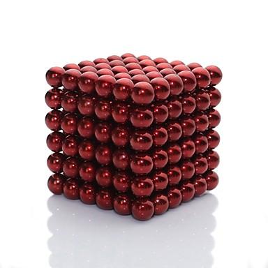 216 pcs Brinquedos Magnéticos Blocos Magnéticos Bolas Magnéticas Blocos de Construir Imãs Magnéticos Raros Super Fortes Ímã de Neodímio Artistíco Brilho Crianças / Adulto Para Meninos Para Meninas