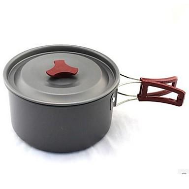Γκαζάκι κάμπινγκ Σκεύη Μαγειρικής για Εξωτερικό Χώρο Φοριέται Για Ανοξείδωτο Ατσάλι Μεταλλικό ΕΞΩΤΕΡΙΚΟΥ ΧΩΡΟΥ Κατασκήνωση Μαύρο