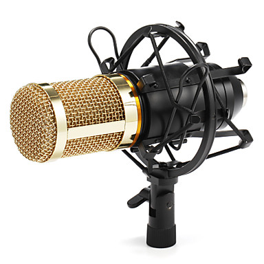 3.5mm Microphone Wired Condenser Microphone Handheld Microphone For Computer Microphone