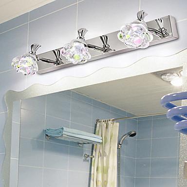 58 57 Crystal Bathroom Lighting For Bedroom Metal Wall Light 220v 40w
