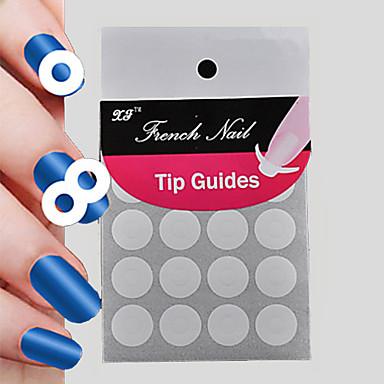 preiswerte Aufkleber für Nägel-Nagelmalwerkzeuge Für Fingernagel Nagel Kunst Maniküre Pediküre Klassisch Alltag