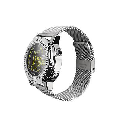 EX28 Masculino Relógio inteligente Android iOS Bluetooth Impermeável Calorias Queimadas Apresentação da Hora Distancia de Rastreamento Pedômetros Cronómetro Podômetro Aviso de Chamada Monitor de