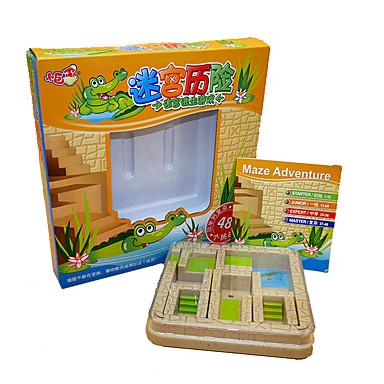 Τρισδιάστατα ξύλινα παζλ Στρες και το άγχος Αρωγής Παιχνίδια αποσυμπίεσης ABS Παιδικά Κοριτσίστικα Παιχνίδια Δώρο 1 pcs