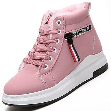 984c2b07282 Mujer Zapatos PU Primavera   Verano Confort Zapatillas de deporte Tacón  Plano Dedo redondo Dorado
