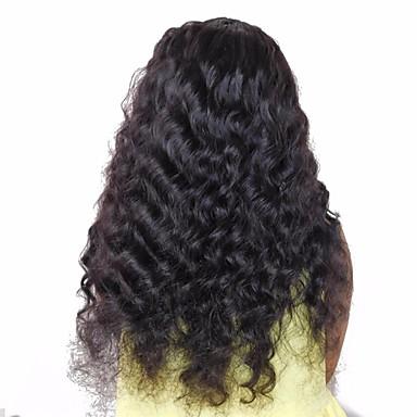 povoljno Ekstenzije od ljudske kose-3 paketa Mongolska kosa Valovita kosa Virgin kosa Ljudske kose plete 10-26 inch Isprepliće ljudske kose Proširenja ljudske kose / 10A