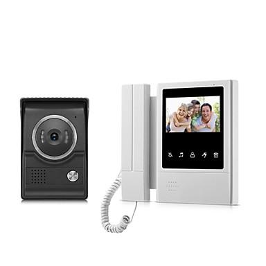 οθόνη xsl-v43e168-ltouch ενσύρματη οπτική πόρτα 4,3 ιντσών lcd οθόνη βίντεο πόρτα τηλέφωνο ενδοεπικοινωνία θυροτηλέφωνο ξεκλειδώνει πόρτα