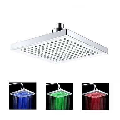 LED LED Χρώμιο Χαρακτηριστικό - Φωτισμός, Κεφαλή ντους
