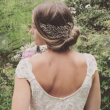 Κράμα Κομμάτια μαλλιών με Πέρλες 1pc Γάμου / Πάρτι / Βράδυ Headpiece