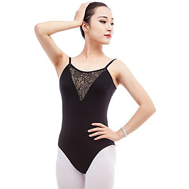7135f4b2c Ballet Leotards Women s Performance Cotton Split Joint Sleeveless ...