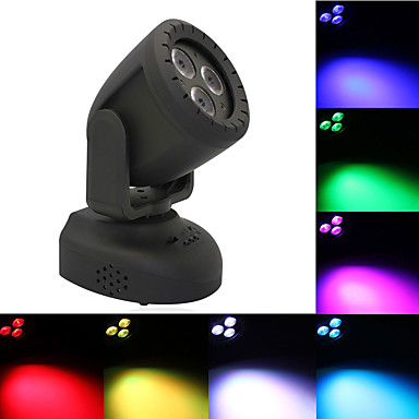U'King Φώτα Σκηνής LED / Φώτα PAR LED Ενεργοποίηση με  Ήχο / Auto / Τηλεχειριστήριο 15 W για Πάρτι / Σκηνή / Γάμος Επαγγελματικό