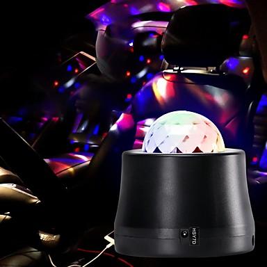 U'King Φώτα Σκηνής LED Auto 6 W για Πάρτι / Γάμος / Χορού Φορητά / Επαγγελματικό