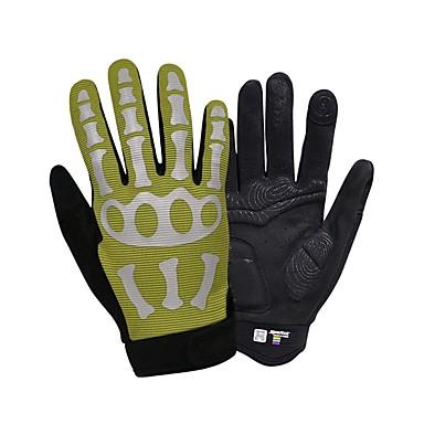 SPAKCT Χειμώνας Γάντια ποδηλασίας Ποδηλασία Βουνού Διατηρείτε Ζεστό Αντανακλαστικό Αναπνέει Αντιολισθητικό Ολόκληρο το Δάχτυλο Γάντια για οθόνη αφής Γάντια για Δραστηριότητες/ Αθλήματα